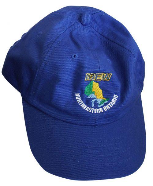 IBEW-Blue-Ball-Cap-Front