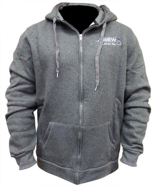 IBEW-Hoodie-Grey-Front